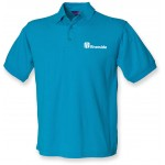 Riverside Mens Polo Shirt (Teal)